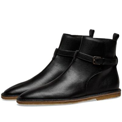 Saint Laurent Nino 10 Leather Jodhpur Boot