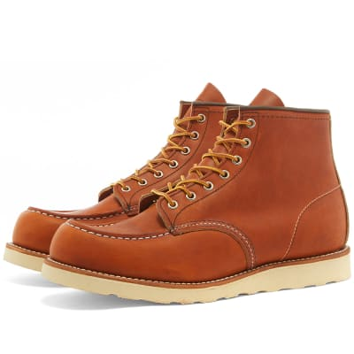"""Red Wing 875 Heritage Work 6"""" Moc Toe Boot"""