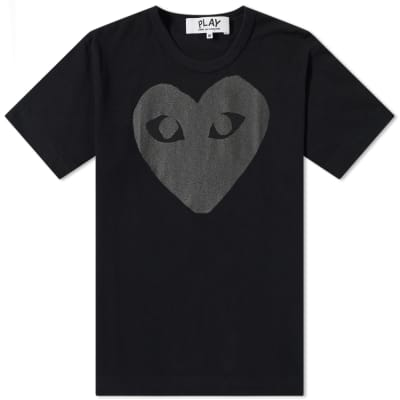 Comme des Garcons Play Heart Logo Tee