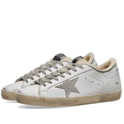 Golden Goose Superstar Shearling Sneaker