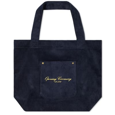Opening Ceremony Corduroy Big Pocket Tote