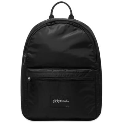 A.P.C. x JJJJound Logo Backpack