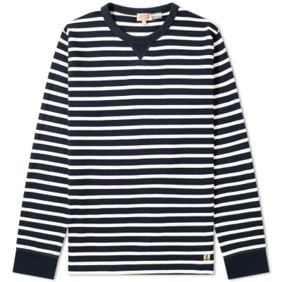 Armor-Lux 78008 Stripe Crew Sweat