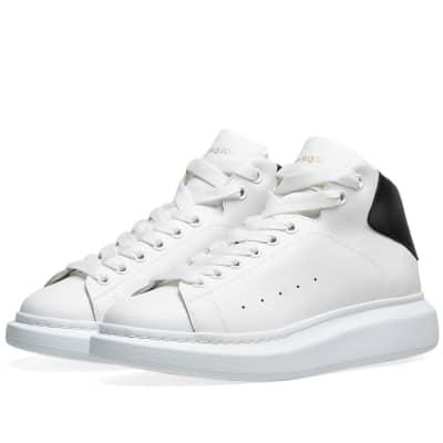 Alexander McQueen Hi Top Wedge Sole Sneaker