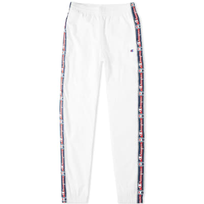 2a6d37a956e96 Champion Reverse Weave Corporate Taped Track Pant