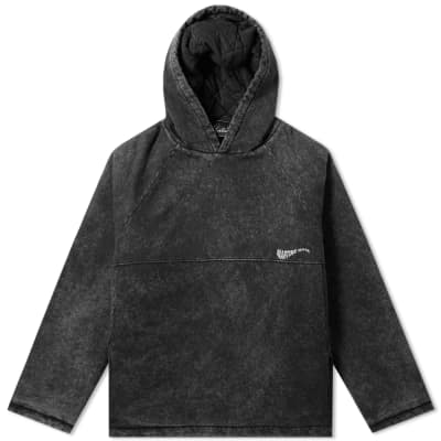 Martine Rose Acid Washed Popover Hoody