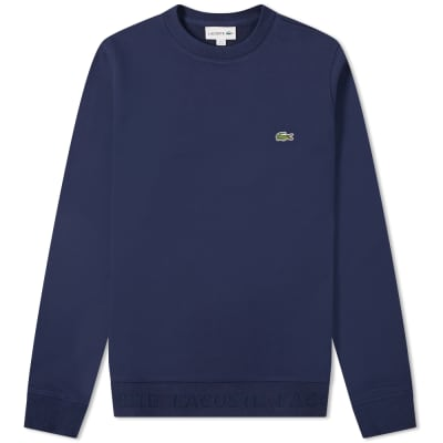 d81f57f19a Beams Plus Long Sleeve Pocket Tee Navy | END.