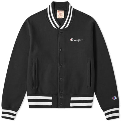 Champion Reverse Weave Small Script Logo Coach Jacket
