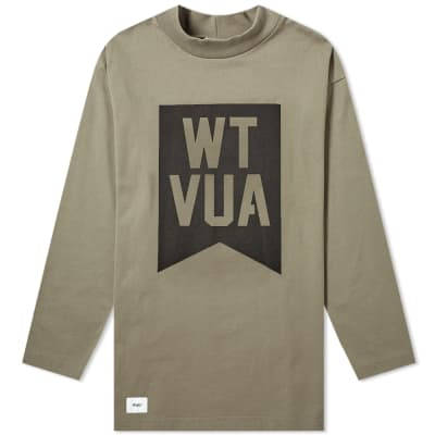 WTAPS Long Sleeve Academy Tee