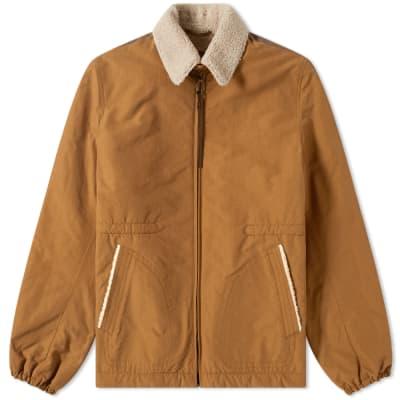 Lanvin Shearling Collar Jacket