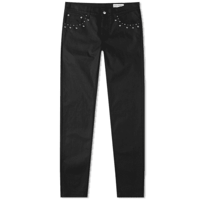 Alexander McQueen Studded Denim Pocket Jean