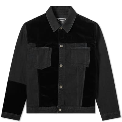 McQ Alexander McQueen Patchwork Denim Jacket