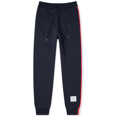 Thom Browne Tricolour Stripe Sweat Pant