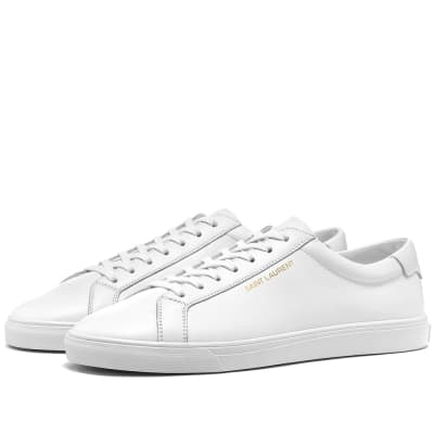 Saint Laurent Andy Clean Leather Sneaker