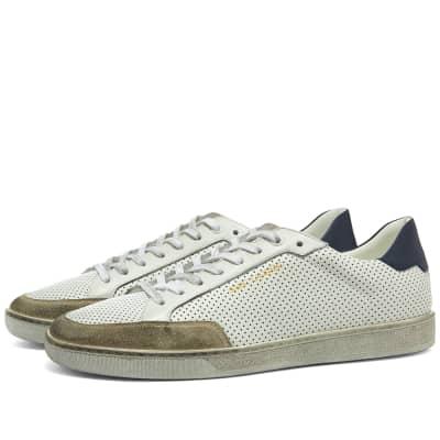176dcd6343ce3 Saint Laurent SL-10 Low Perforated Sneaker