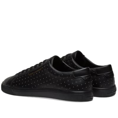 Saint Laurent Andy Signature Studded Sneaker