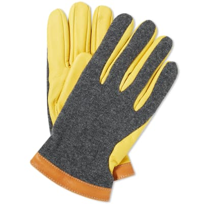 Hestra Deerskin Wool Tricot Glove