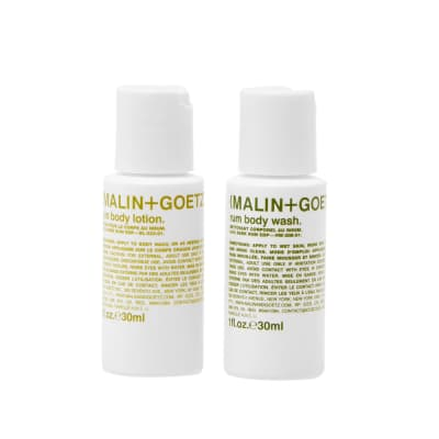 Malin + Goetz Rum Body Essentials Duo