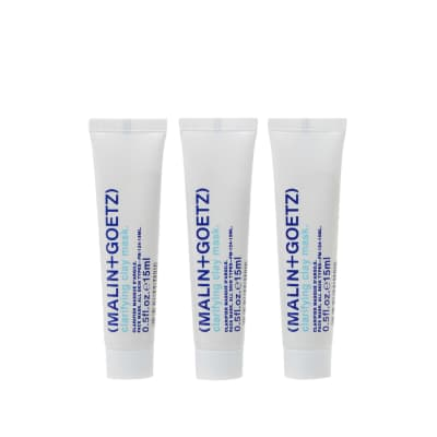 Malin + Goetz Clarifying Clay Mask Travel Tubes