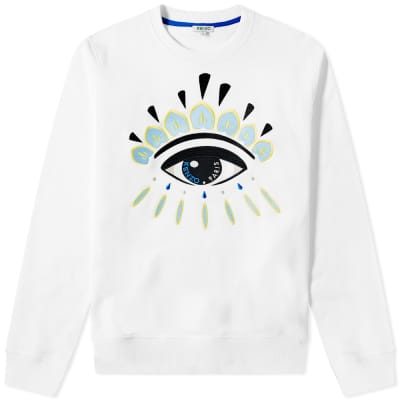 Kenzo Embroidered Eye Crew Sweat