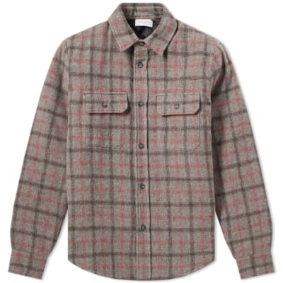John Elliott Quilt Lined Check Shirt