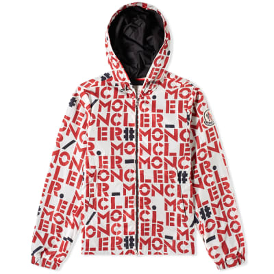 Moncler Genius - 2 Moncler 1952 - Dorfman All Over Text Logo Windbreaker