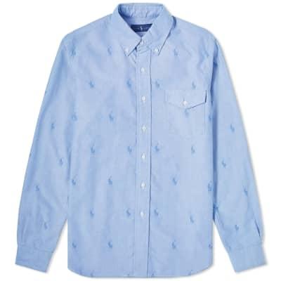 Polo Ralph Lauren Pony Repeat Oxford Pocket Shirt