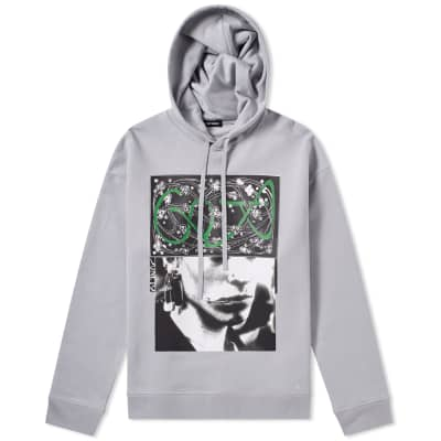 Raf Simons Pierced Mouth Hoody