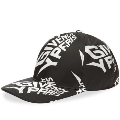Givenchy Extreme Logo Curved Peak Cap