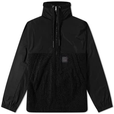 94f6a873 McQ Alexander McQueen Fleece Half Zip Jacket