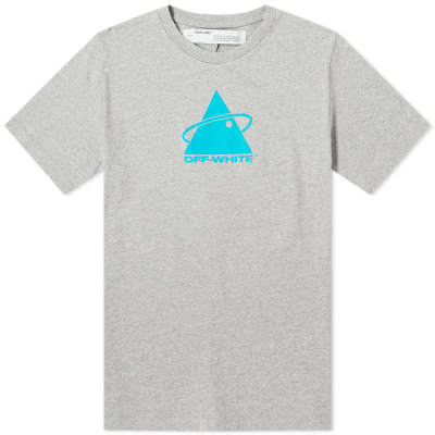 Off-White Triangle Planet Print Tee