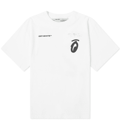 Off-White Split Halftone Arrows Oversized Tee