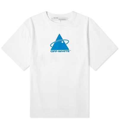 Off-White Triangle Planet Oversized Tee