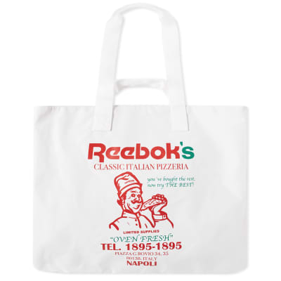 Reebok Pizza Tote Bag