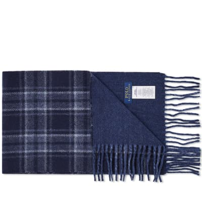 Polo Ralph Lauren Wool Plaid Scarf