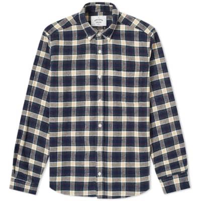 Portuguese Flannel River Button Down Check Shirt