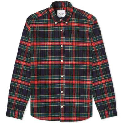Portuguese Flannel Scotch Button Down Check Shirt
