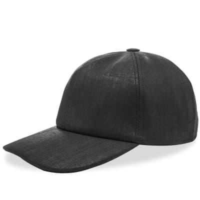 706db1bf664e Rick Owens DRKSHDW Coated Canvas Baseball Cap