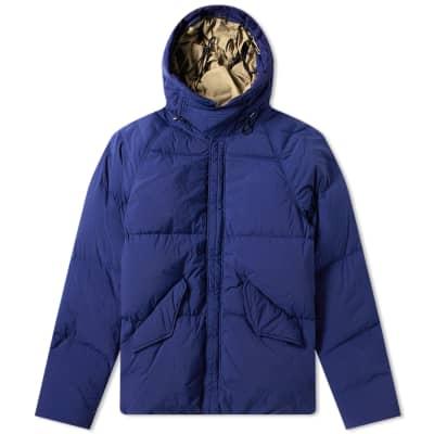 Ten C Garment Dyed Nylon Arctic Down Parka