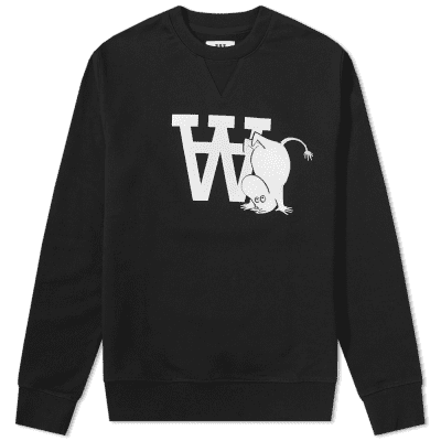 Wood Wood x Moomin Tye Sweat