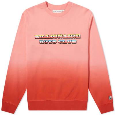 Billionaire Boys Club Dip Dye Logo Crew Sweat