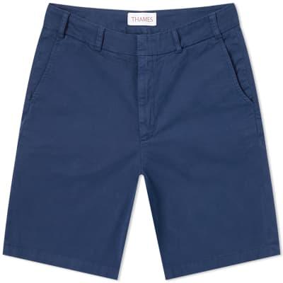 Thames Twill Logo Shorts