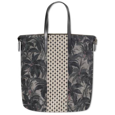 Dries Van Noten Printed Shopper