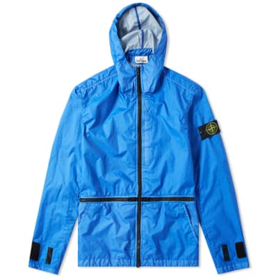9c1e1bc5c474e Stone Island Membrana 3L TC Zip Hooded Shell Jacket ...