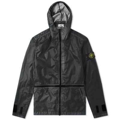 a5c57e73aa61 Stone Island Membrana 3L TC Zip Hooded Shell Jacket ...