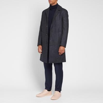 Harmony Maximus Check Coat