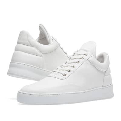 Plain Grain low top sneakers - White Filling Pieces