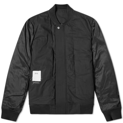 END. x Rick Owens DRKSHDW Cop Flight Jacket