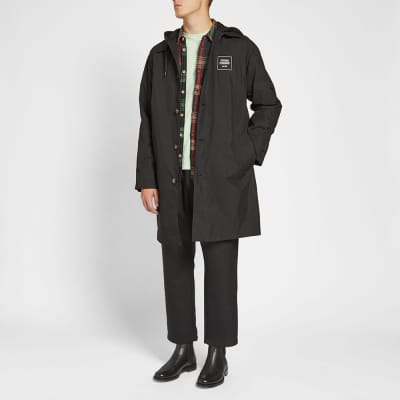 Opening Ceremony Hooded Mac Coat
