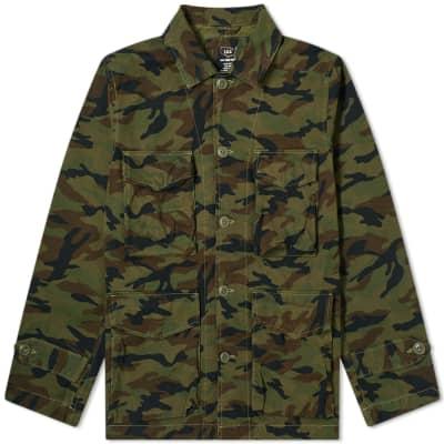 Save Khaki Woodland Camo Sportsman Jacket